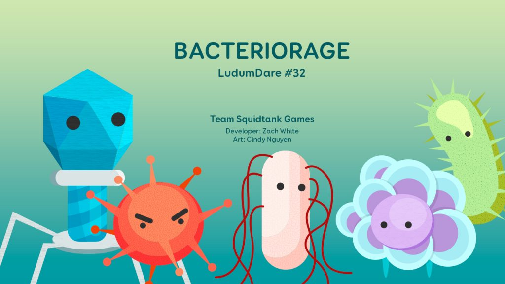 BacterioRage Keyart